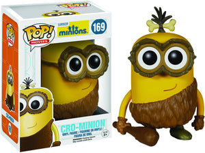 Pop Movies 3.75 Inch Action Figure Minions - Cro-Minion #169