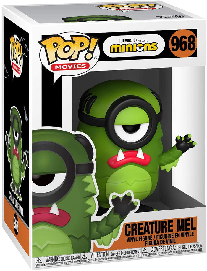 Pop Movies Minions 3.75 Inch Action Figure - Creature Mel #968