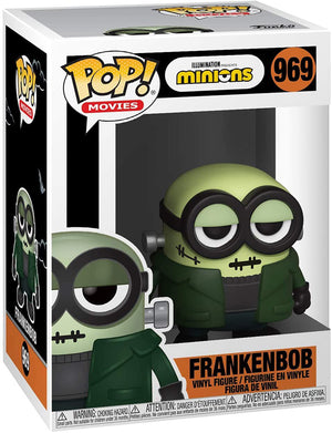 Pop Movies Minions 3.75 Inch Action Figure - Frankenbob #969