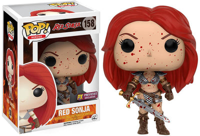 Pop Movies Red Sonja 3.75 Inch Action Figure Exclusive - Red Sonja Bloody #158