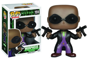 Pop Movies 3.75 Inch Action Figure The Mattrix - Morpheus #159