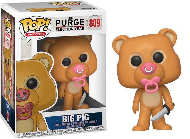 Pop Movies 3.75 Inch Action Figure The Purge Election Year - Big Pig #809