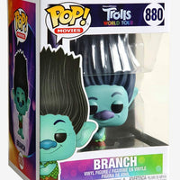 Pop Movies 3.75 Inch Action Figure Trolls - Branch #880
