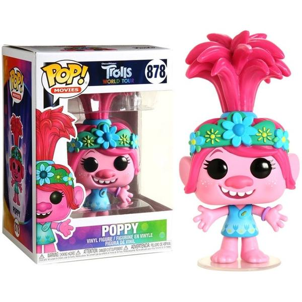 Pop Movies 3.75 Inch Action Figure Trolls - Poppy #878
