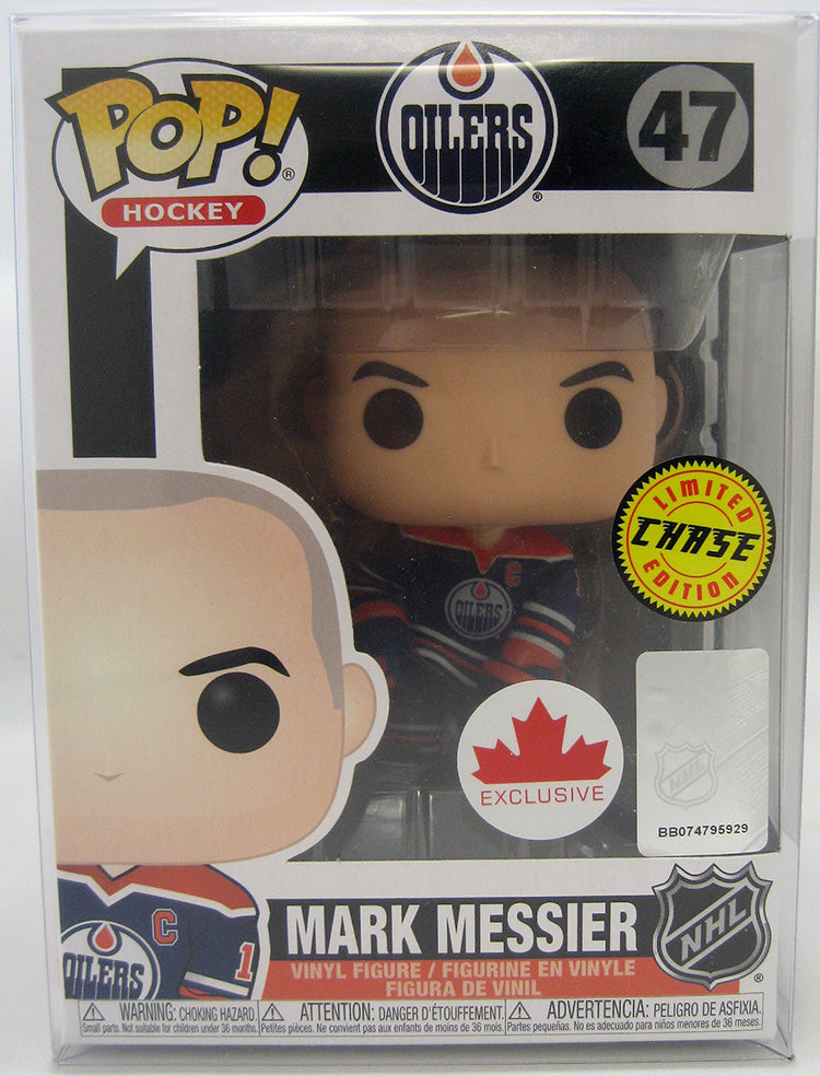 Pop NHL 3.75 Inch Action Figure Edmonton Oilers - Mark Messier #47 Chase