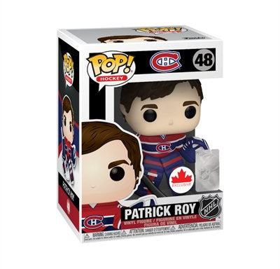 Pop NHL 3.75 Inch Action Figure Montreal Canadiens - Patrick Roy #48
