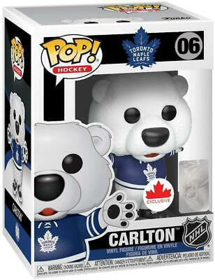 Pop NHL 3.75 Inch Action Figure Toronto Maple Leafs - Carlton Mascot #06