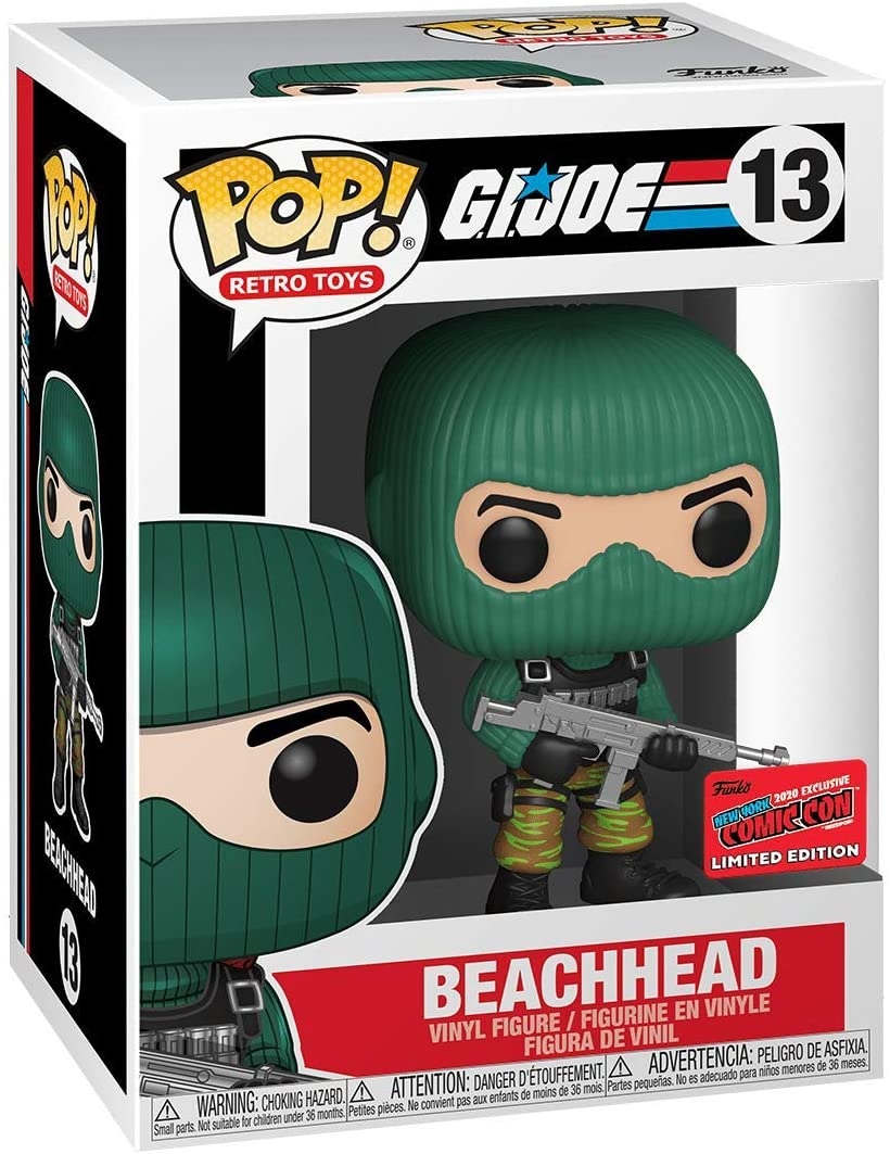 Pop Retro Toys G.I. Joe 3.75 Inch Action Figure Exclusive - Beachhead #13