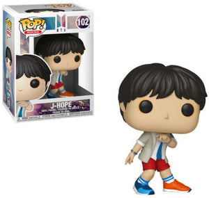 Pop Rocks 3.75 Inch Action Figure BTS - J-Hope #102