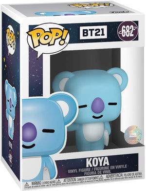 Pop Rocks 3.75 Inch Action Figure BTS - Koya #682