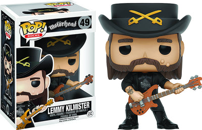 Pop Rocks Motorhead 3.75 Inch Action Figure - Lemmy Kilmister #49