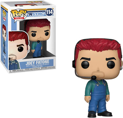 Pop Rocks 3.75 Inch Action Figure Nsync - Joey Fatone #114
