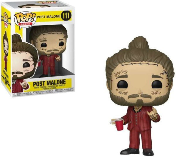 Pop Rocks 3.75 Inch Action Figure Post Malone - Post Malone #111