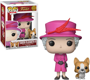 Pop Royals 3.75 Inch Action Figure - Queen Elizabeth II #01