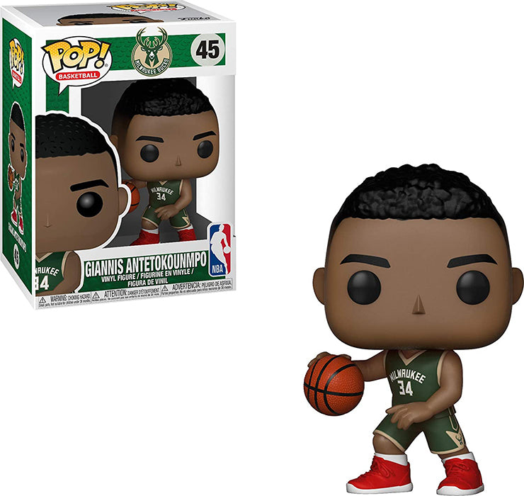 Pop Sports NBA Basketball 3.75 Inch Action Figure - Giannis Antetokounmpo #45
