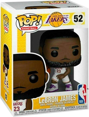 Pop Sports NBA Basketball 3.75 Inch Action Figure Los Angels Lakers - Lebron James #52