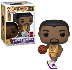 Pop Sports NBA Basketball 3.75 Inch Action Figure - Magic Johnson #78