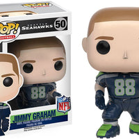 Pop Sports NFL Football 3.75 Inch Action Figure Seatle Seahawks - Jimmy Graham #50