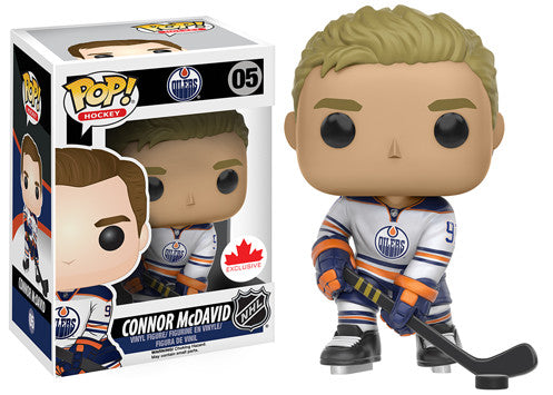 Pop Sports 3.75 Inch Action Figure NHL Hockey - Connor McDavid White #05