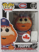 Pop Sports NHL Hockey 3.75 Inch Action Figure Montreal Canadiens - Youppi! #07