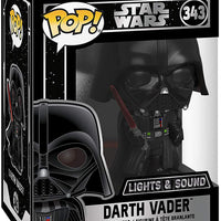 Pop Star Wars 3.75 Inch Action Figure - Darth Vader with Lights & Sound #343