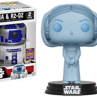 Pop Star Wars 3.75 Inch Action Figure Star Wars - Princess Leia & R2-D2
