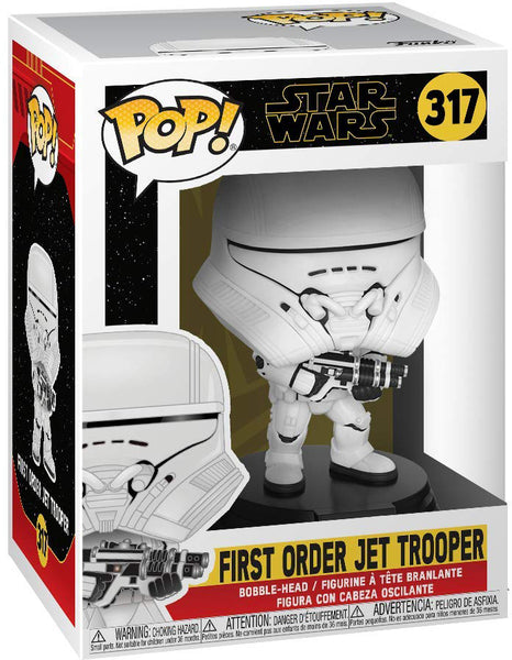Pop Star Wars 3.75 Inch Action Figure Star Wars Rise Of Skywalker - First Order Jet Trooper #317