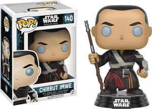 Pop Star Wars Star Wars Rogue One 3.75 Inch Action Figure - Chirrut Imwe #140