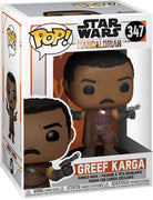 Pop Star Wars 3.75 Inch Action Figure The Mandalorian - Greef Karga #347