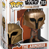 Pop Star Wars 3.75 Inch Action Figure The Mandalorian - The Armorer #353