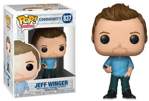 Pop Television 3.75 Inch Action Figure Community - Jeff Winger #839