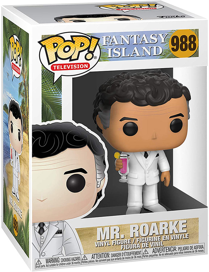 Pop Television Fantasy Island 3.75 Inch Action Figure - Mr Roarke #988