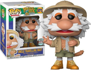 Pop Television Fraggle Rock 3.75 Inch Action Figure Exclusive - Uncle Travelling Matt #571