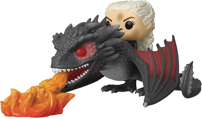 Pop Television 3.75 Inch Action Figure Game Of Thrones - Fiery Drogon