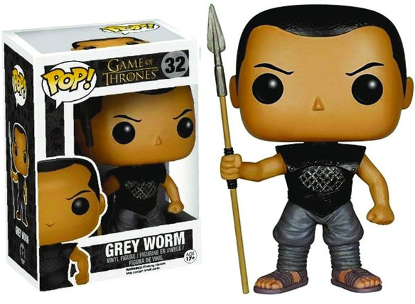 Pop Television 3.75 Inch Action Figure Game Of Thrones - Grey Worm #32
