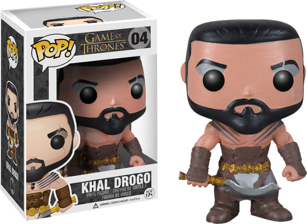 Pop Television 3.75 Inch Action Figure Game Of Thrones - Khal Drogo #04