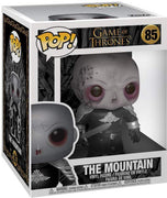 Pop Television 6 Inch Action Figure Game Of Thrones - The Mountain Unmasked #85