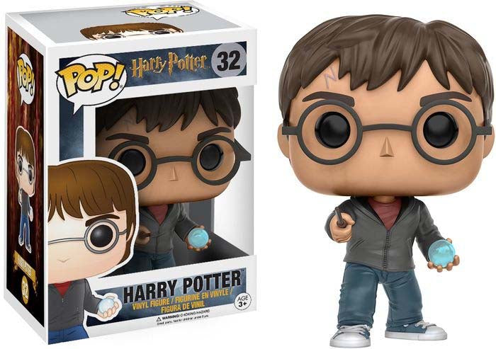Pop Television 3.75 Inch Action Figure Harry Potter - Harry Potter with Orb #32