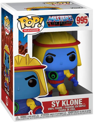Pop Television Masters Of The Universe 3.75 Inch Action Figure - Sy Klone #995