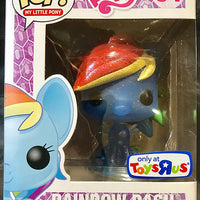 Pop Television 3.75 Inch Action Figure My Little Pony - Rainbow Dash #04 Exclusive