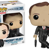 Pop Television 3.75 Inch Action Figure Sherlock - Mycroft Holmes #287