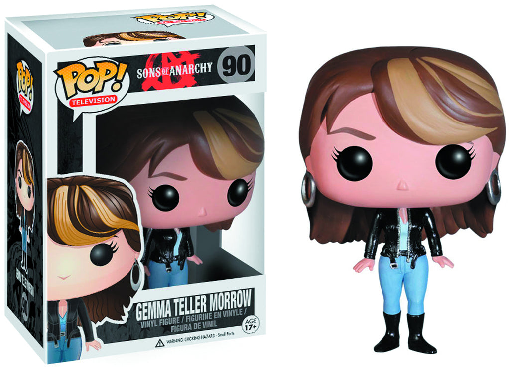 Pop Television 3.75 Inch Action Figure Sons Of Anarchy - Gemma Teller Morrow #90