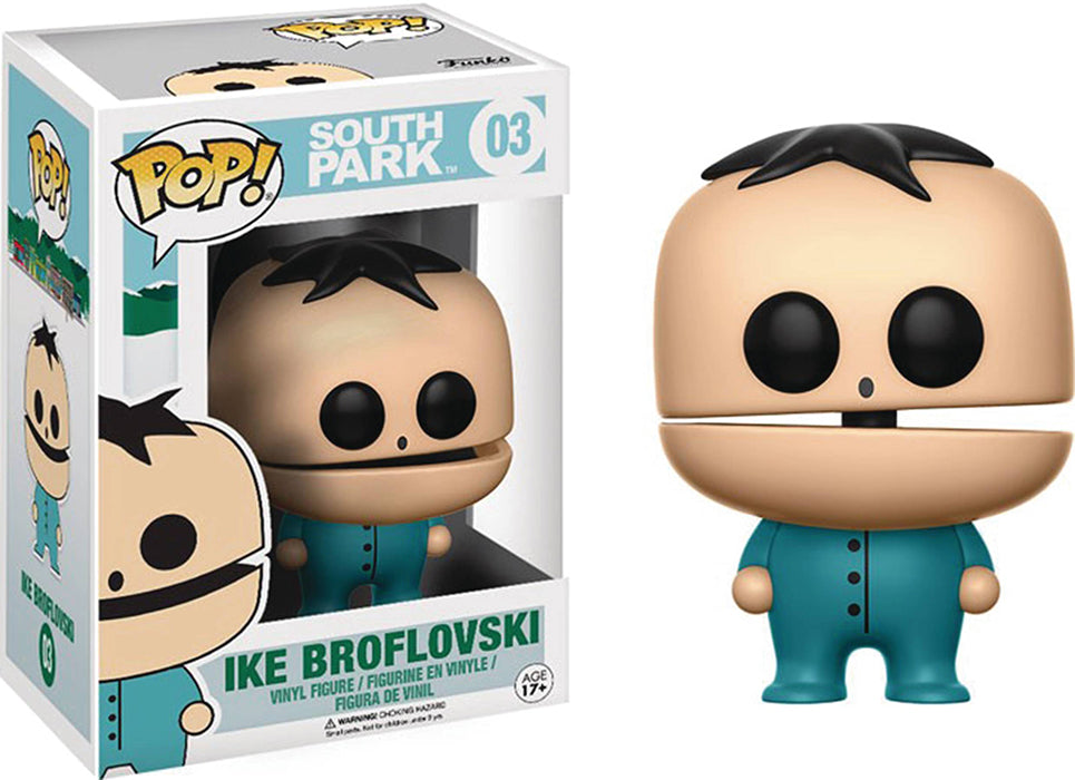 Pop Television South Park 3.75 Inch Action Figure - Ike Broflovski #03