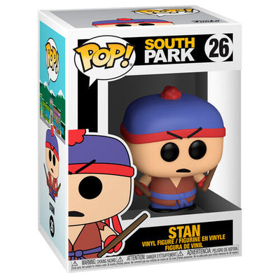 Pop Television South Park 3.75 Inch Action Figure - Stan #26