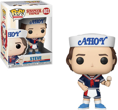 Pop Television 3.75 Inch Action Figure Stranger Things - Ice Cream Steve #803