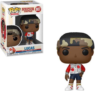 Pop Television 3.75 Inch Action Figure Stranger Things - Lucas #807