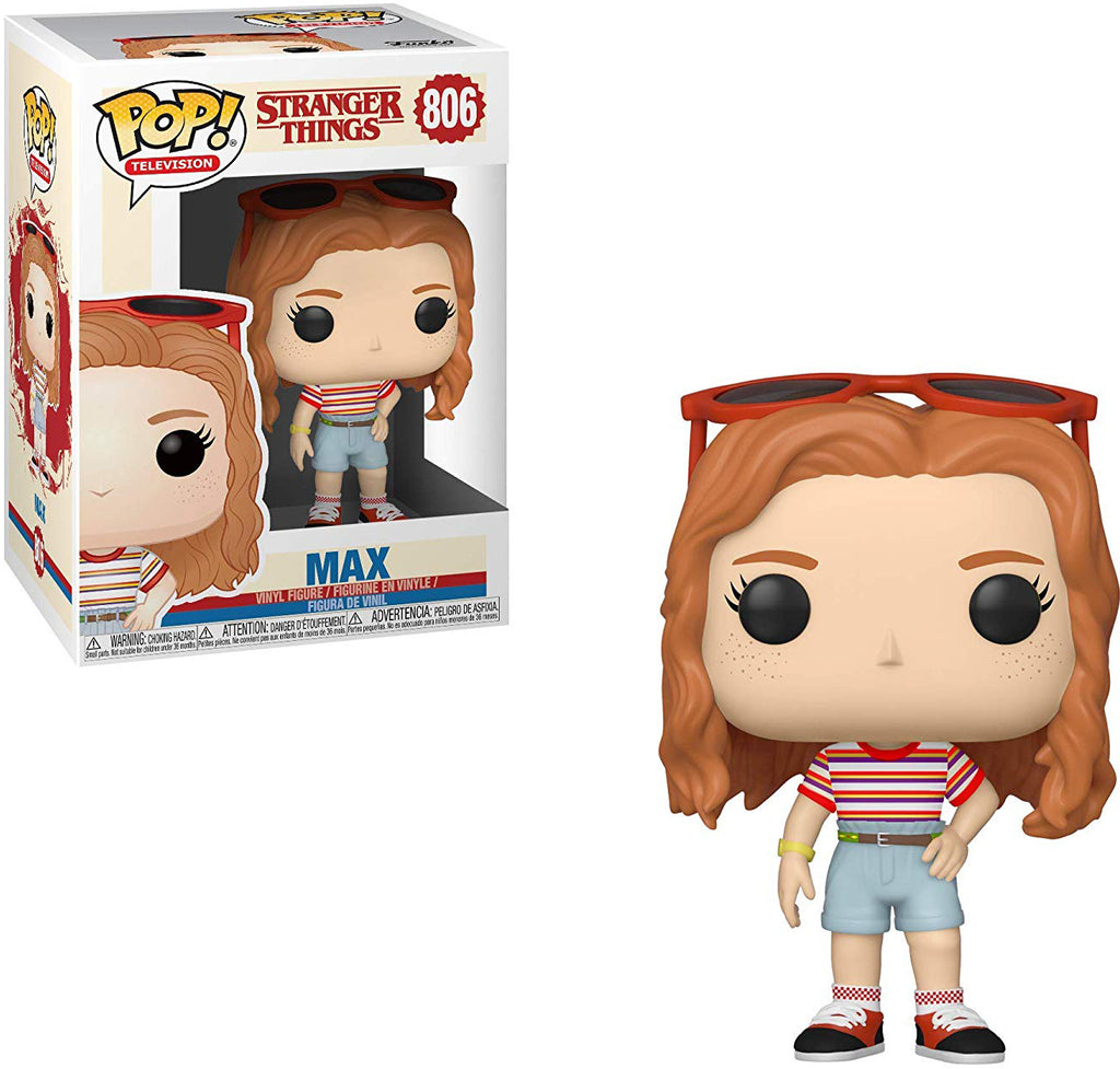 Pop Television 3.75 Inch Action Figure Stranger Things - Max #806