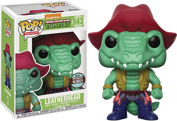 Pop Television 3.75 Inch Action Figure Teenage Mutant Ninja Turtles - Leatherhead #543 Exclusive