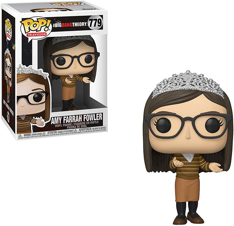 Pop Television 3.75 Inch Action Figure The Big Bang Theory - Amy Farrah Fowler #779