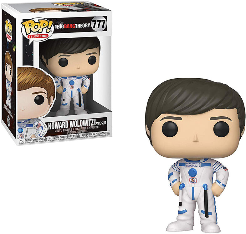 Pop Television 3.75 Inch Action Figure The Big Bang Theory - Howard Wolowitz In Space Suit #777